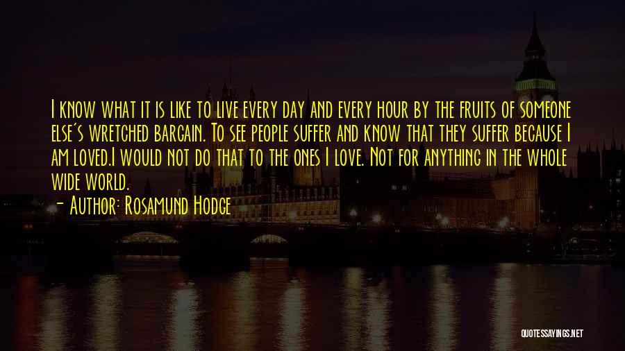 Rosamund Hodge Quotes 126133