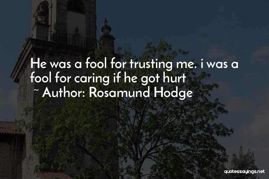 Rosamund Hodge Quotes 1424152