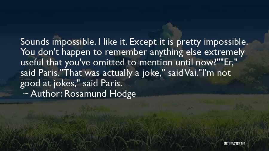 Rosamund Hodge Quotes 1428526