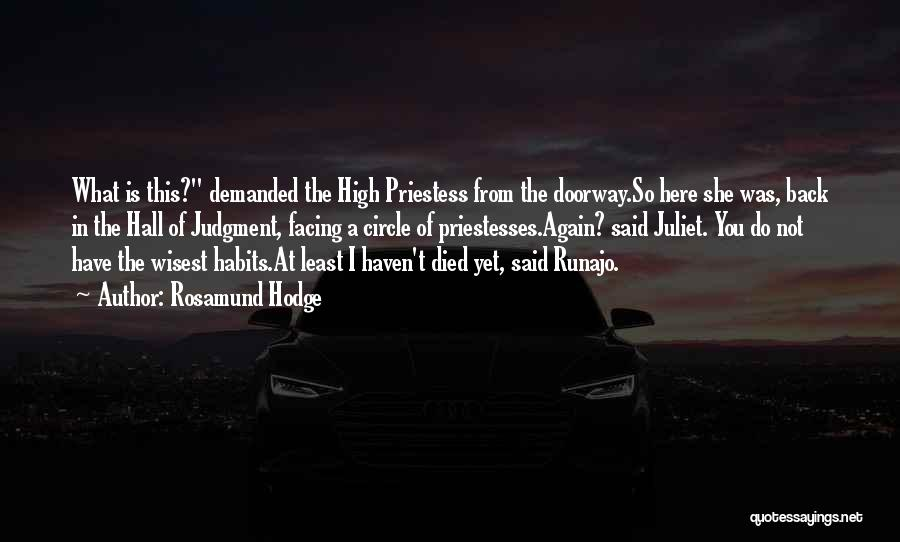 Rosamund Hodge Quotes 1702560