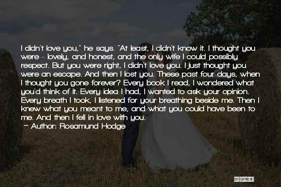 Rosamund Hodge Quotes 888866