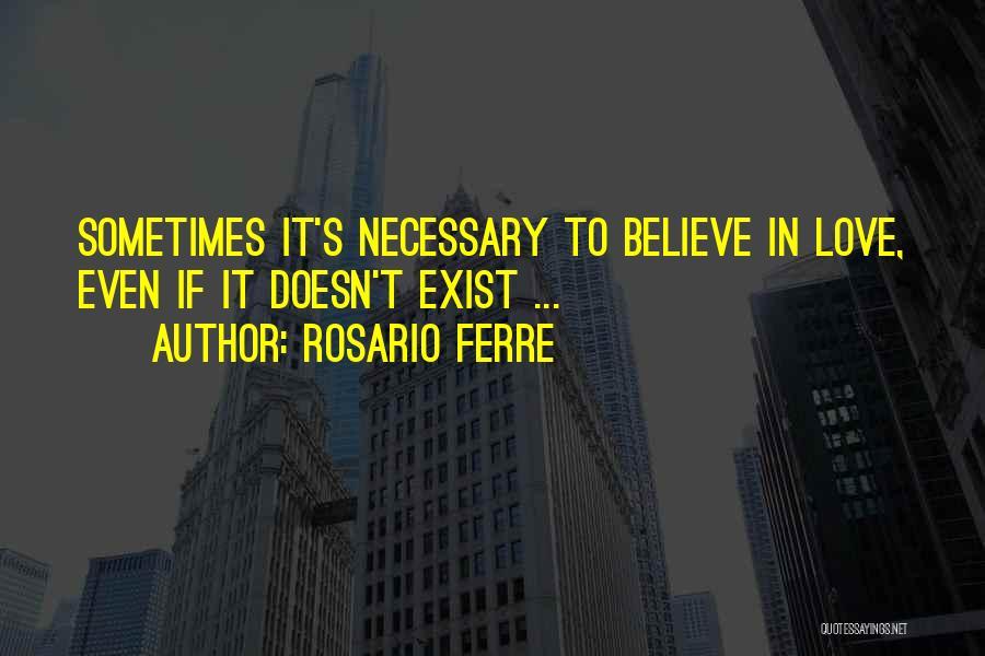 Rosario Ferre Quotes 407867