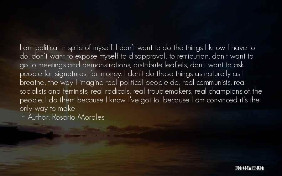 Rosario Morales Quotes 1588982