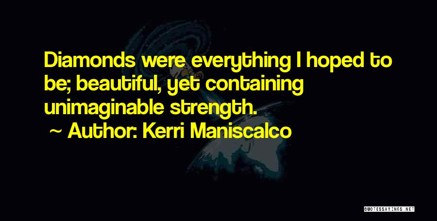 Rose And Jack Quotes By Kerri Maniscalco