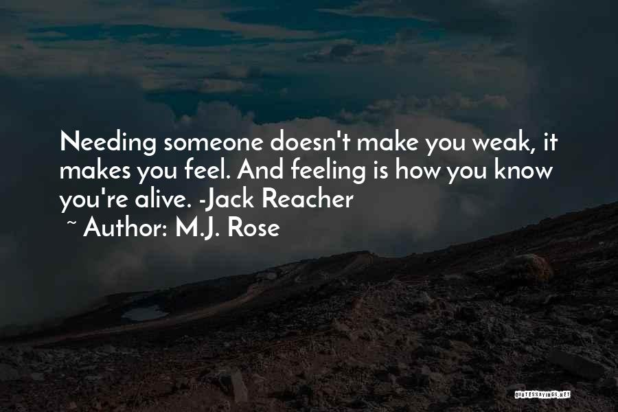 Rose And Jack Quotes By M.J. Rose