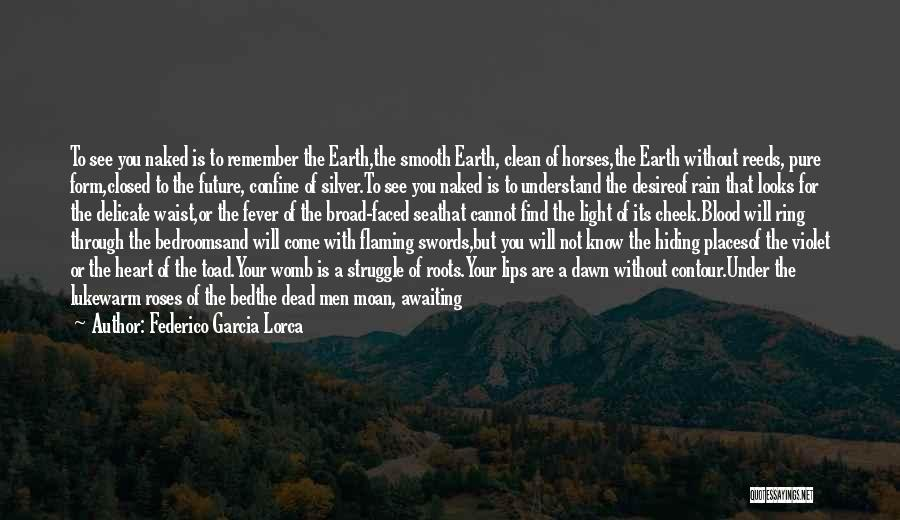 Roses And Blood Quotes By Federico Garcia Lorca