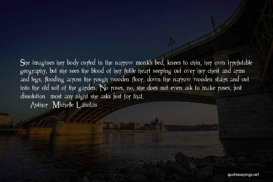 Roses And Blood Quotes By Michelle Latiolais
