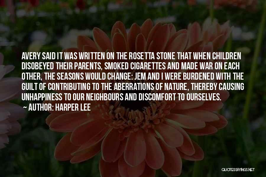 Rosetta Stone Quotes By Harper Lee