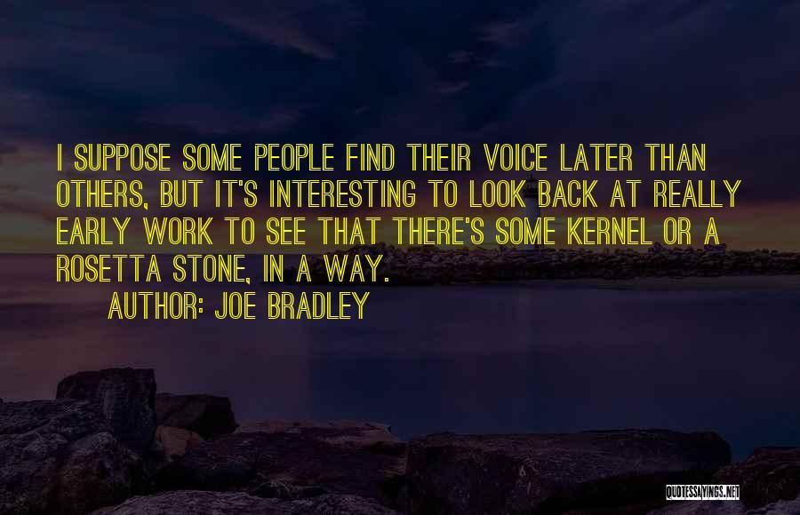 Rosetta Stone Quotes By Joe Bradley