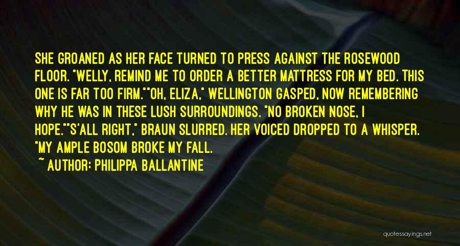 Rosewood Quotes By Philippa Ballantine