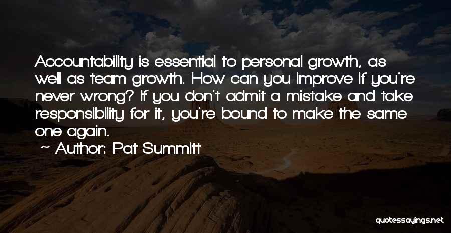 Rosie Hw Quotes By Pat Summitt