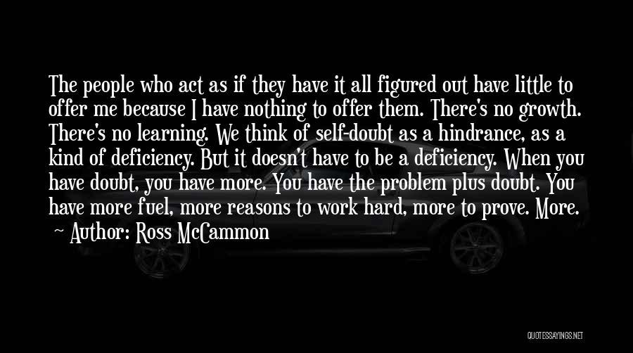 Ross McCammon Quotes 872983