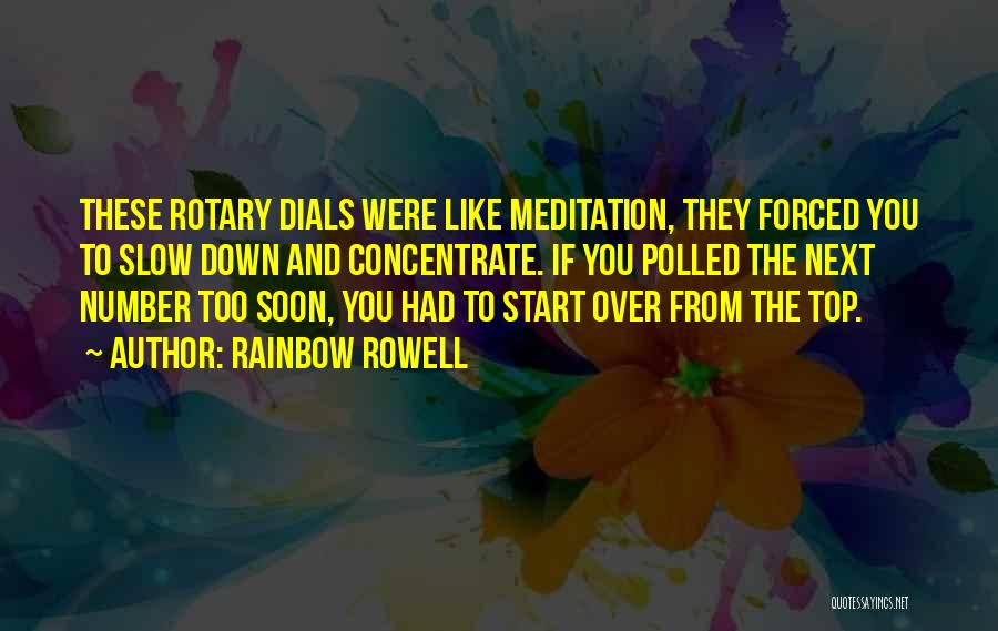 Rotary Phone Quotes By Rainbow Rowell