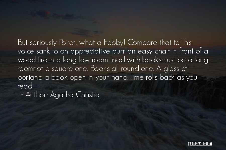 Round Square Quotes By Agatha Christie