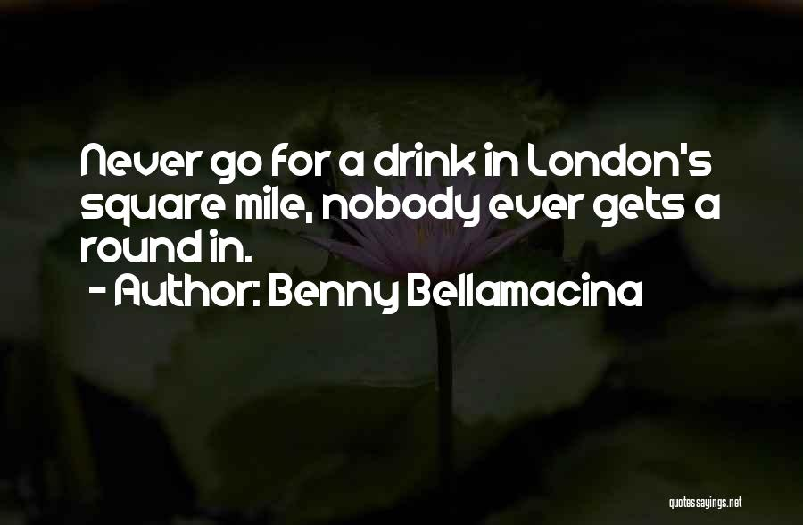 Round Square Quotes By Benny Bellamacina