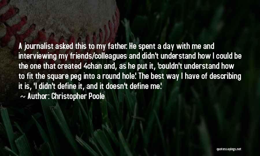 Round Square Quotes By Christopher Poole