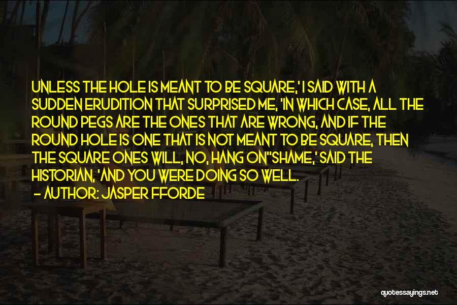 Round Square Quotes By Jasper Fforde