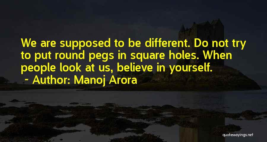 Round Square Quotes By Manoj Arora