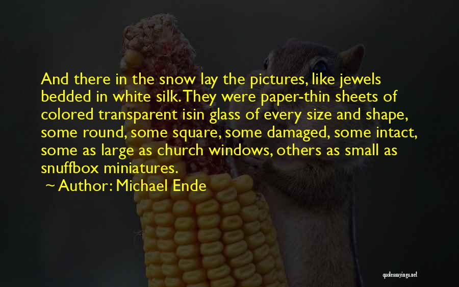 Round Square Quotes By Michael Ende