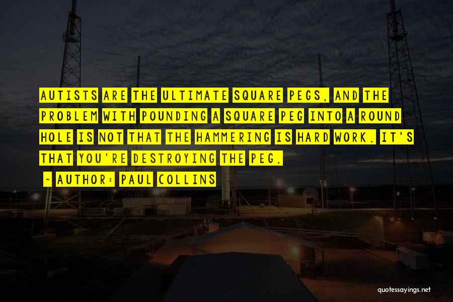 Round Square Quotes By Paul Collins