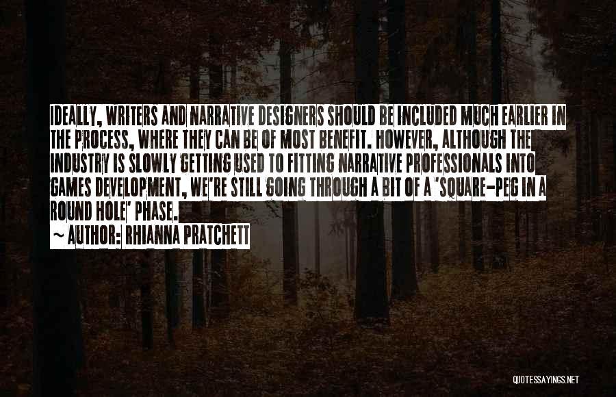 Round Square Quotes By Rhianna Pratchett
