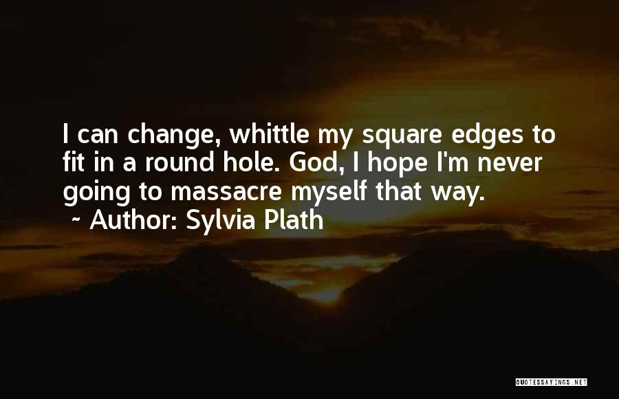 Round Square Quotes By Sylvia Plath