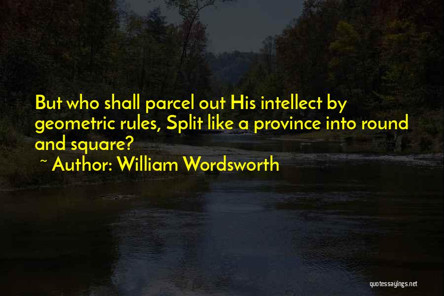 Round Square Quotes By William Wordsworth