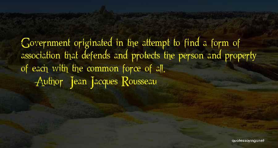 Rousseau Property Quotes By Jean-Jacques Rousseau