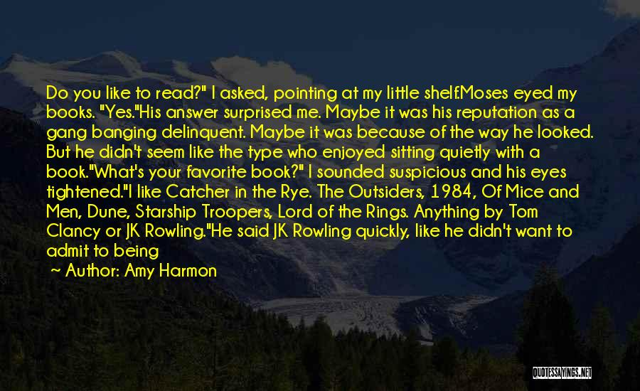Rowling's Quotes By Amy Harmon