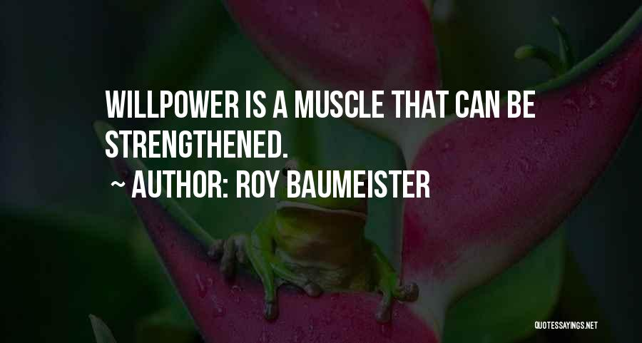 Roy Baumeister Quotes 2181303