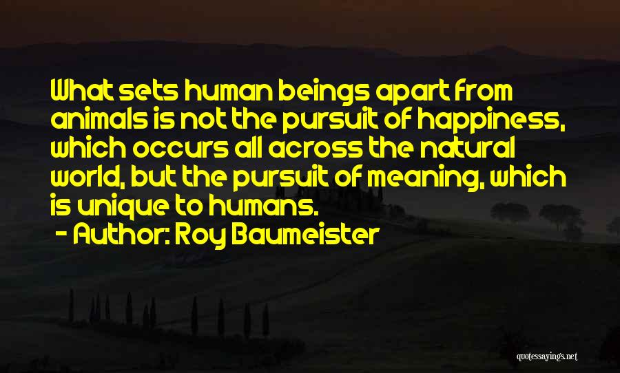 Roy Baumeister Quotes 282690