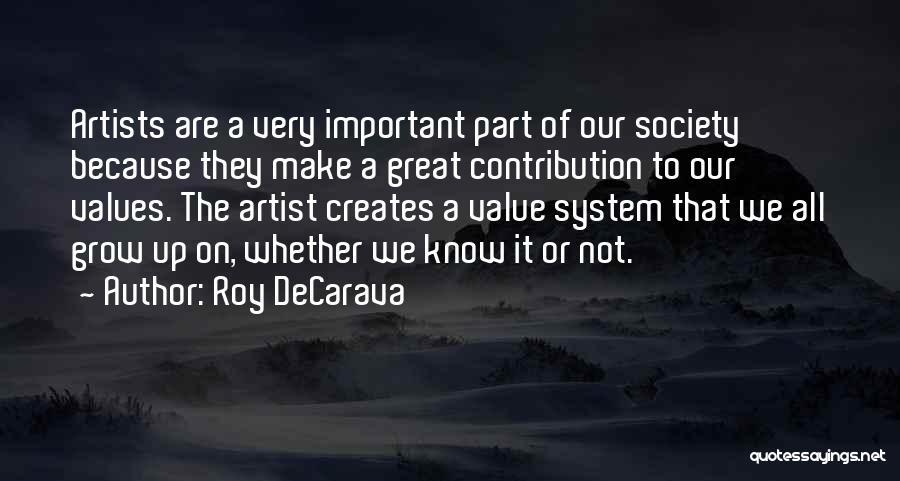 Roy DeCarava Quotes 1159643