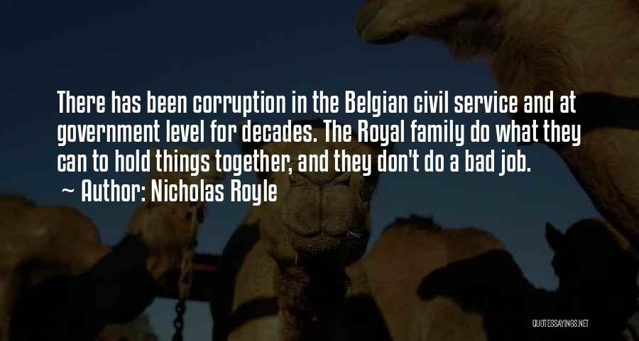 Royal Civil Quotes By Nicholas Royle