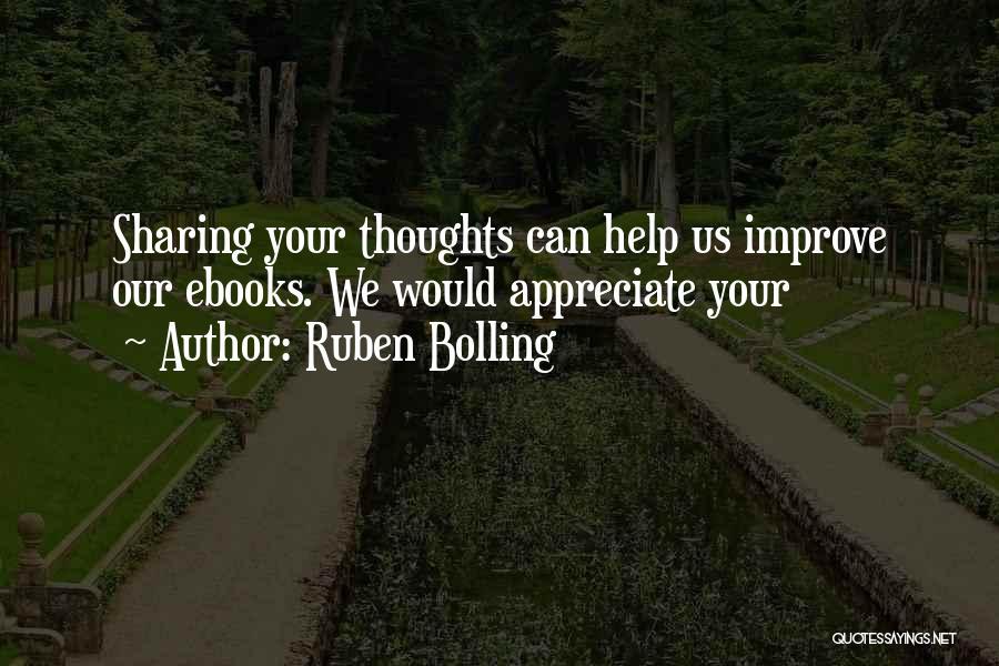 Ruben Bolling Quotes 439923