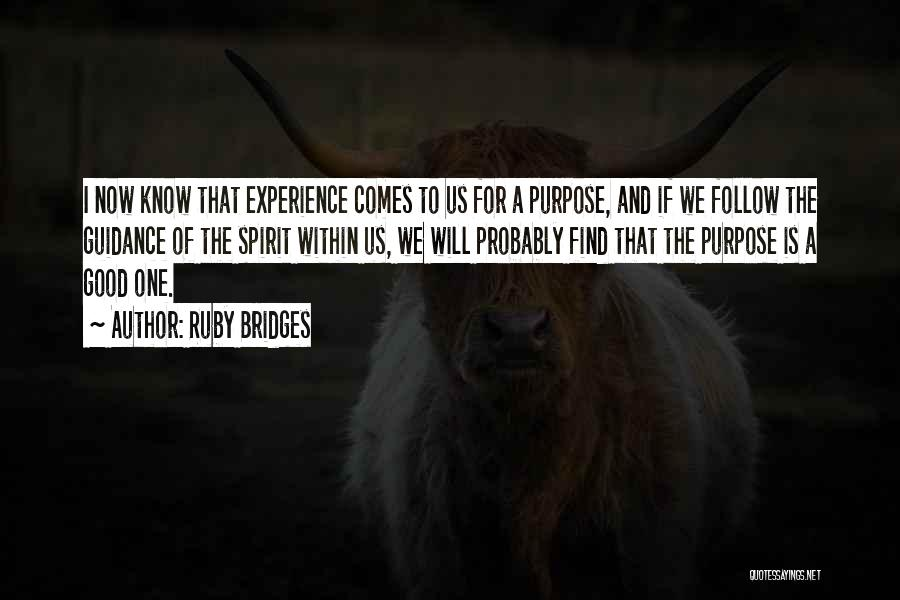 Ruby Bridges Famous Quotes Sayings