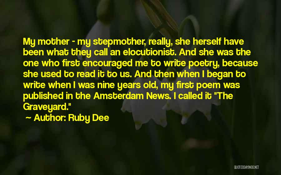 Ruby Dee Quotes 100685