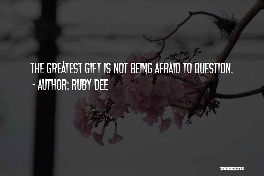 Ruby Dee Quotes 1067230
