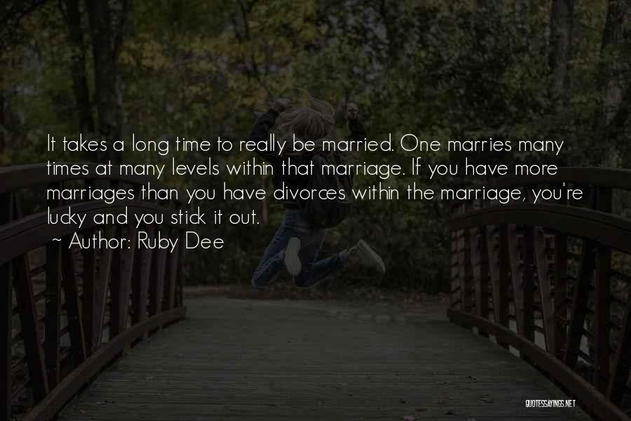 Ruby Dee Quotes 1549028