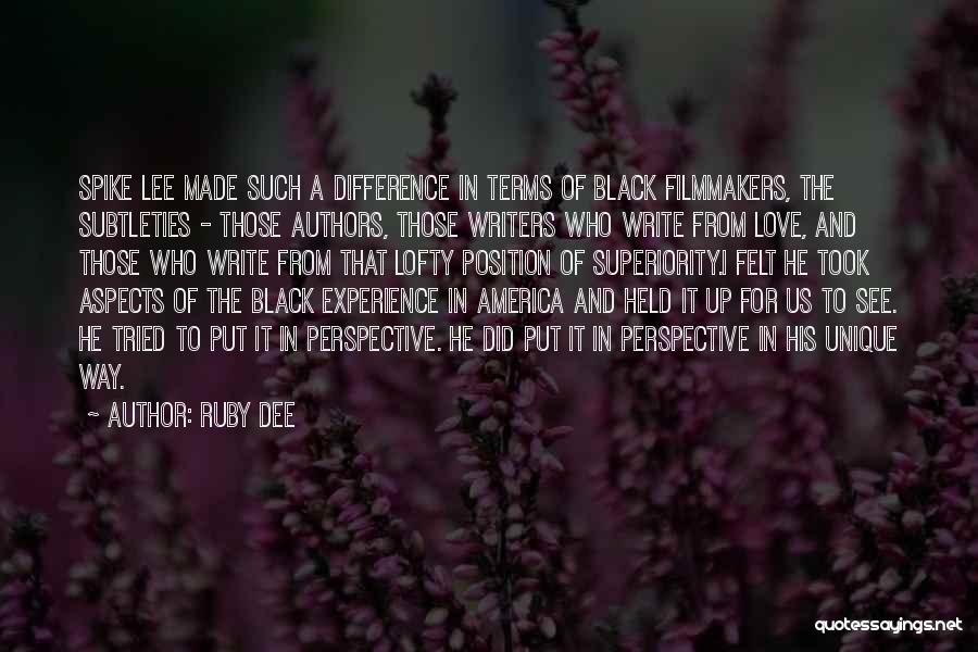 Ruby Dee Quotes 2194994
