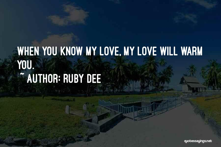 Ruby Dee Quotes 2226506