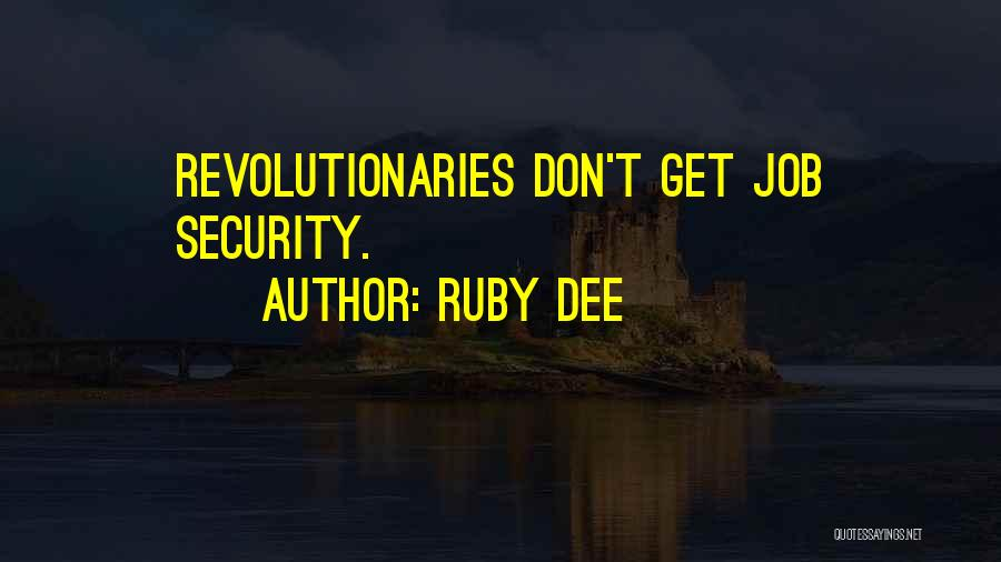 Ruby Dee Quotes 603845