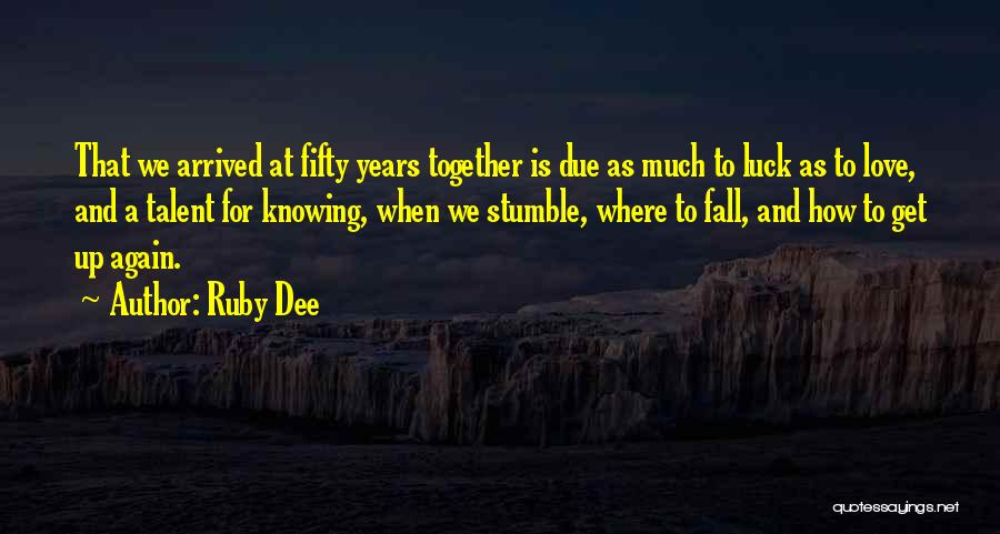 Ruby Dee Quotes 649255