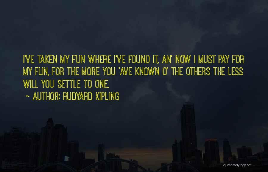 Rudyard Kipling Quotes 806358