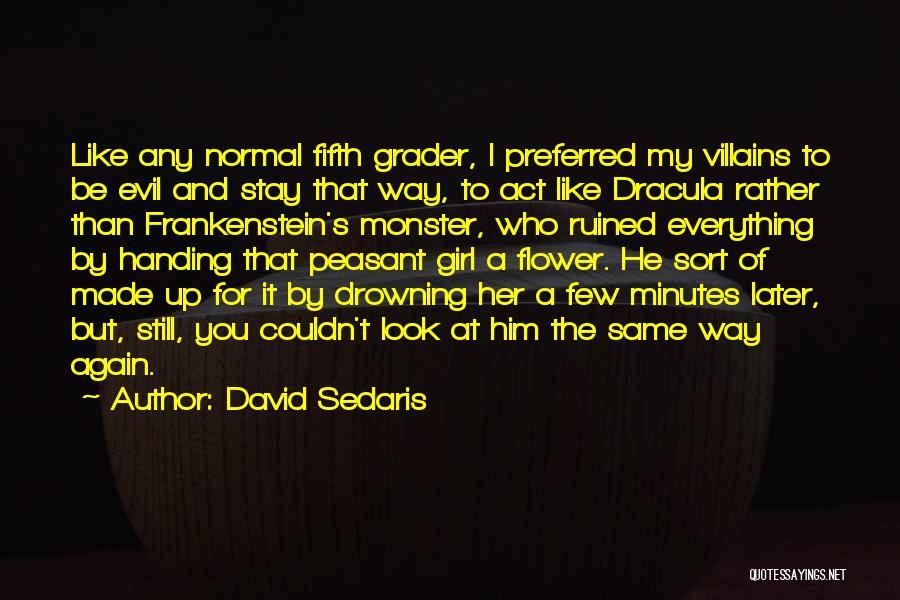 Ruined Everything Quotes By David Sedaris