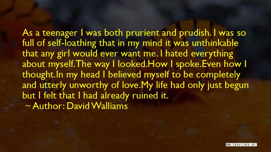 Ruined Everything Quotes By David Walliams