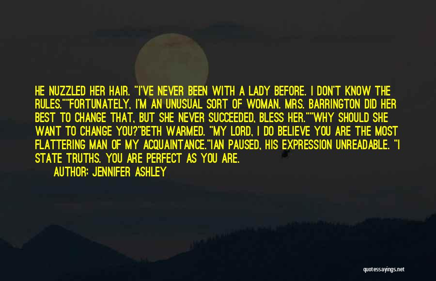 Rules Of Lady Quotes By Jennifer Ashley