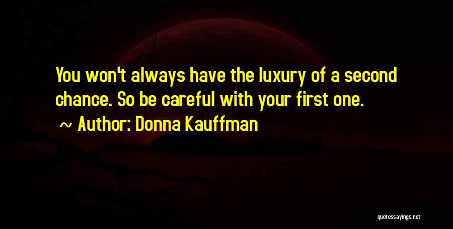 Rules Of Love Quotes By Donna Kauffman