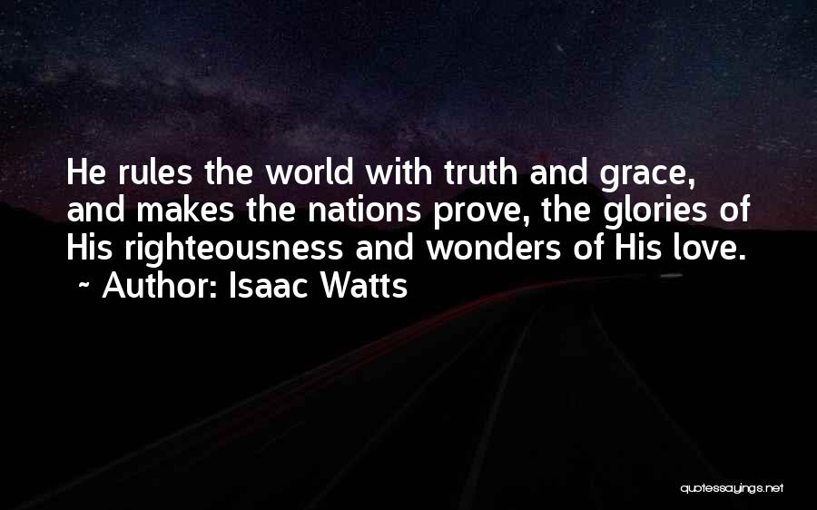 Rules Of Love Quotes By Isaac Watts