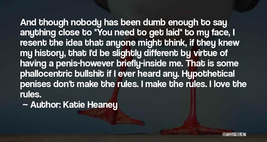 Rules Of Love Quotes By Katie Heaney