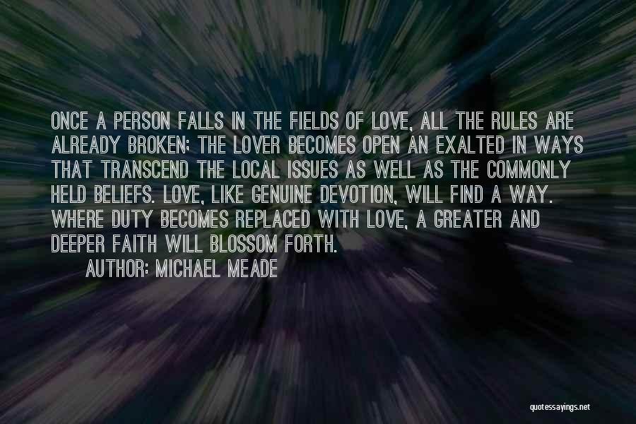 Rules Of Love Quotes By Michael Meade